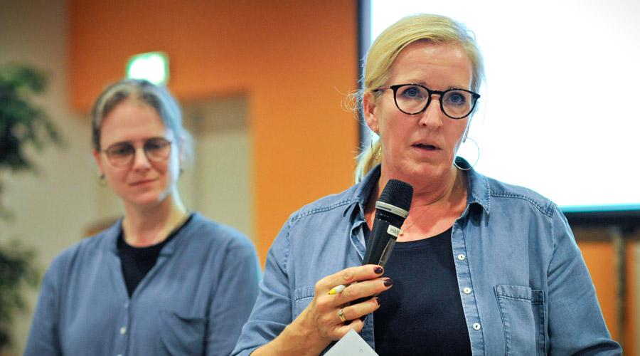 Maureen de Kruijf en Esther Lindoorn